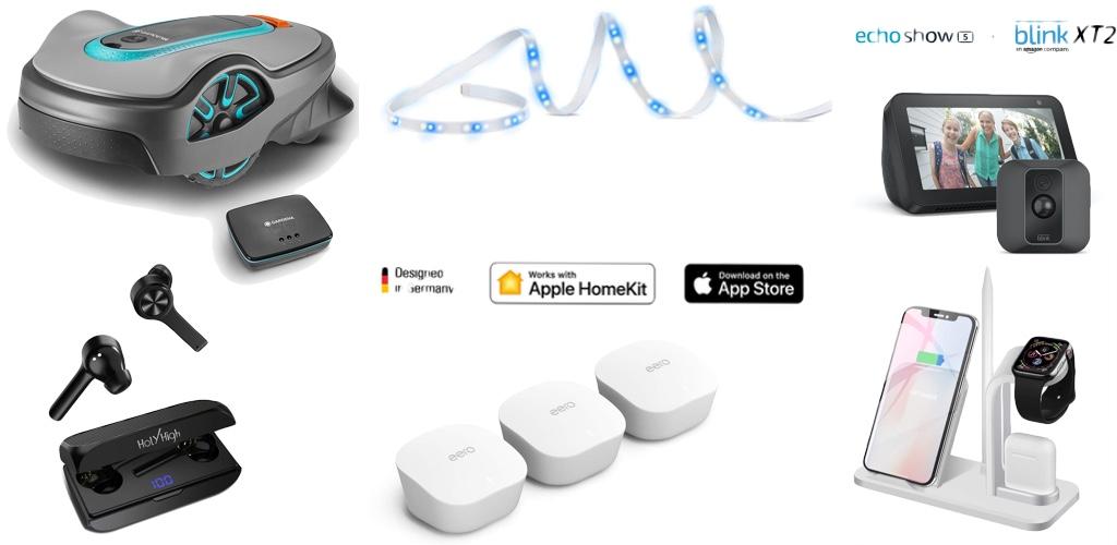 Amazon Blitzangebote: Rabatt auf Eve HomeKit-LightStrip, Gardena Smart System, 1TB + 2TB SSDs, USB-Ladegeräte, Eero WLAN-Mesh und mehr › Macerkopf