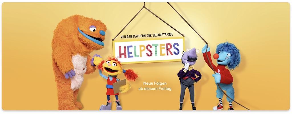 """Apple TV+: Neue """"Helpsters""""-Folgen erscheinen am 03. April – Trailer ist da › Macerkopf"""