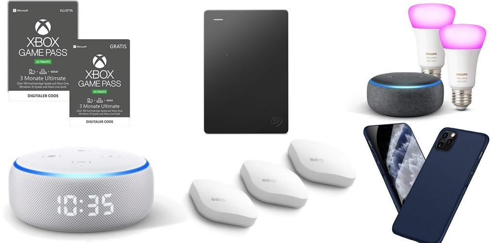 Amazon Blitzangebote: Rabat auf 5TB ext. Seagate Festplatte, Xbox Game Pass, iPhone 11 & 11 Pro Hüllen, Qi- & USB-Ladegeräte, kabellose Kopfhörer und mehr › Macerkopf