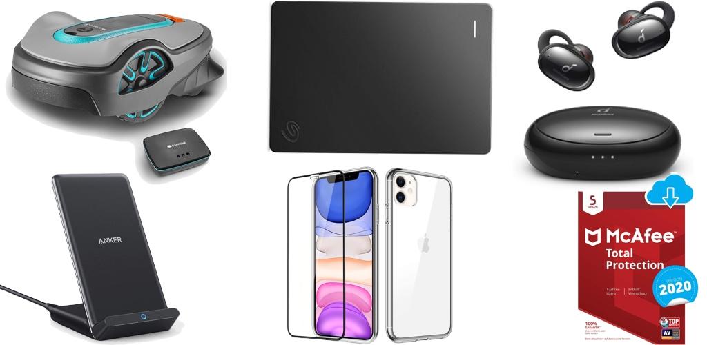 Amazon Blitzangebote: Rabatt auf 5TB ext. Festplatte, iPhone 11 & 11 Pro Hüllen, Gardena Mähroboter, Qi-Ladegeräte, Videotürklingel und mehr › Macerkopf