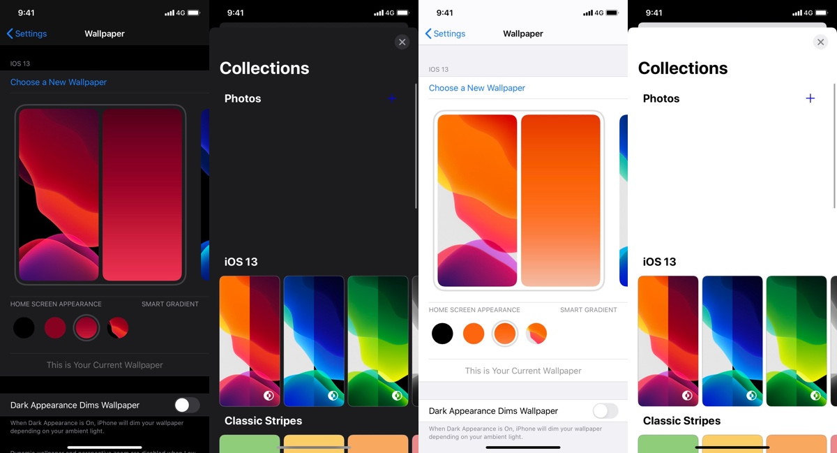 iOS 14: Screenshots zeigen neue Einstellungen für Hintergrundbilder › Macerkopf