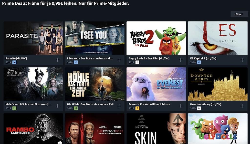 Online Filme Ausleihen