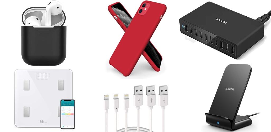 Amazon Blitzangebote: Rabatt auf iPhone 11 & 11 Pro Hüllen, Qi-Ladegeräte, Lightning-Kabel, kabellose Kopfhörer, Saugroboter, Ring Video-Türklingel und mehr