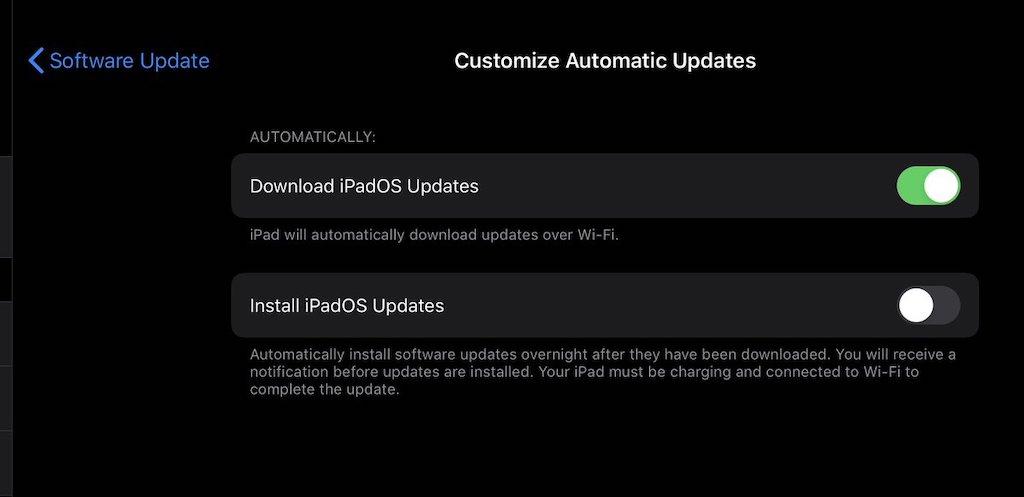 Ios Automatische Updates