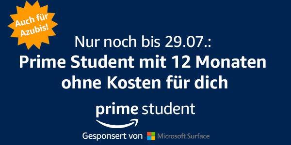 Amazon de student kostenlos