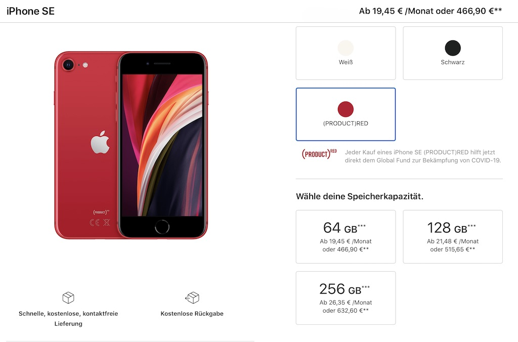 Apple Mehrwertsteuersenkung