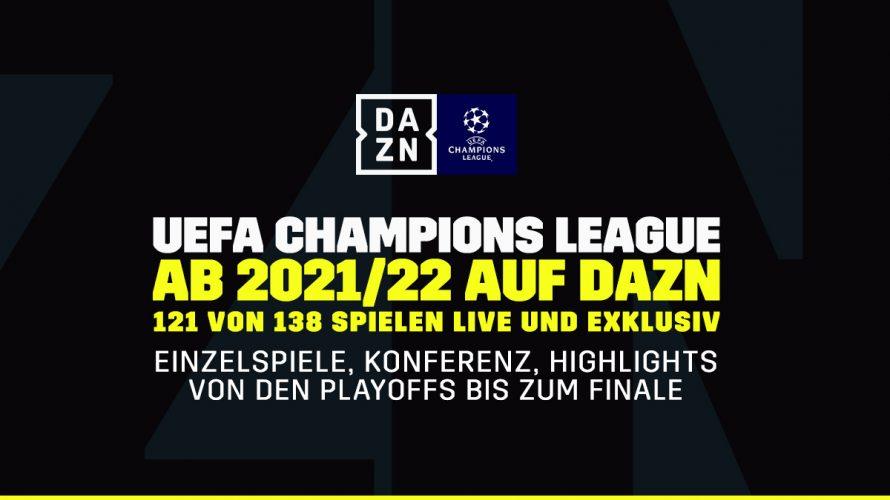 Dazn Champions League 2021
