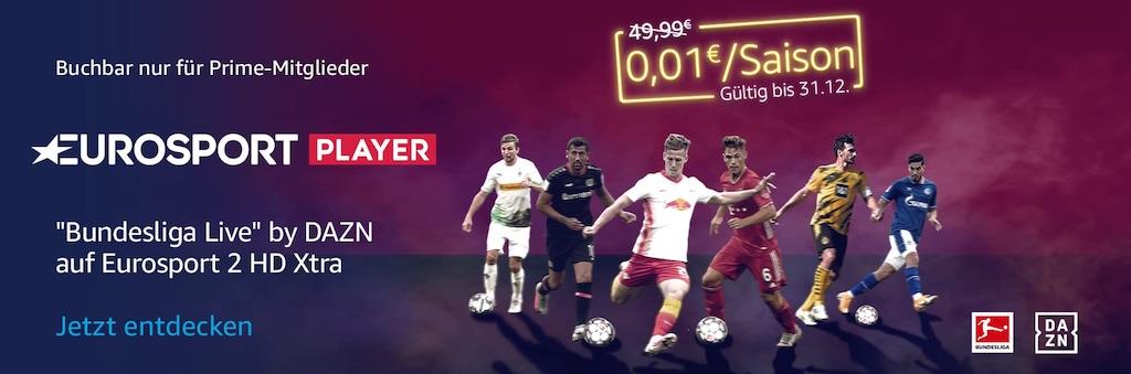 Amazon Prime Eurosport Bundesliga