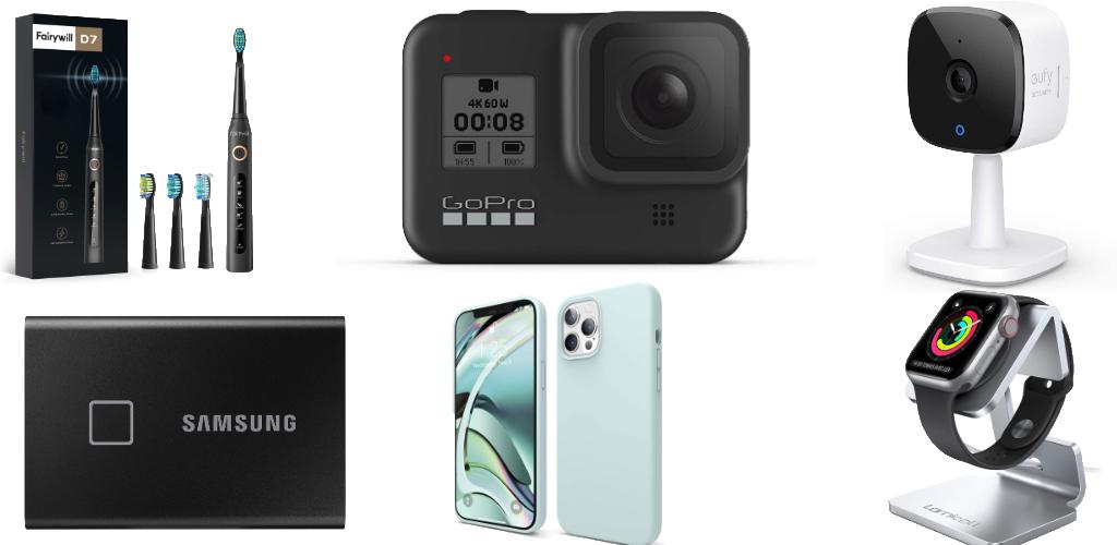 Amazon Blitzangebote: Rabatt auf GoPro Hero8, HomeKit Indoor-Cam, Saugroboter, iPhone 12 Hüllen, SSDs, USB-Ladegeräte und mehr › Macerkopf