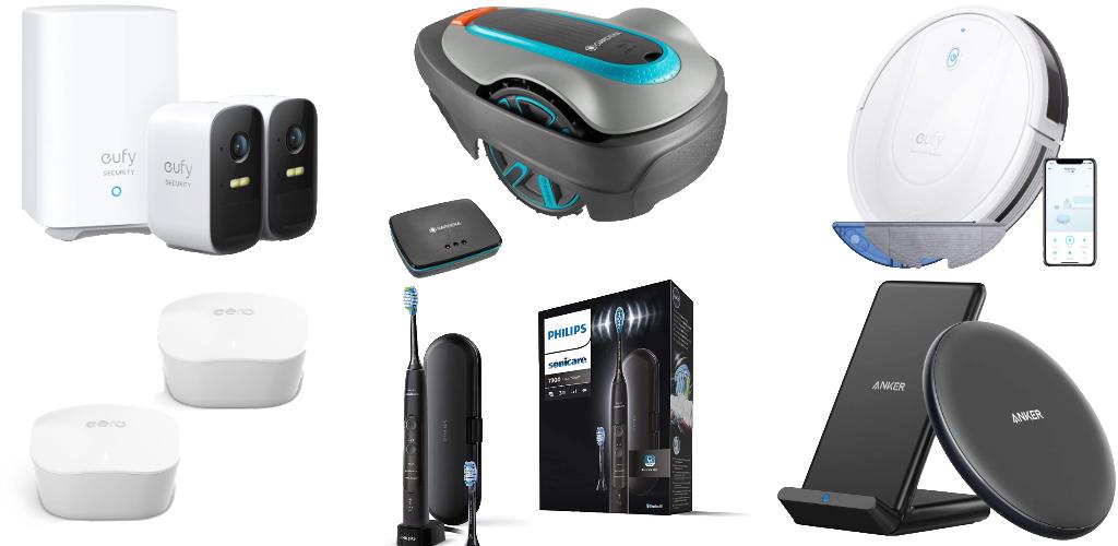 Amazon Blitzangebote: Rabatt auf eero WLAN-Mesh, Gardena smarter Mähroboter, EufyCam 2C HomeKit-Kamera, iPhone 12 Hüllen, Saugroboter, Powerline-Adapter und mehr › Macerkopf