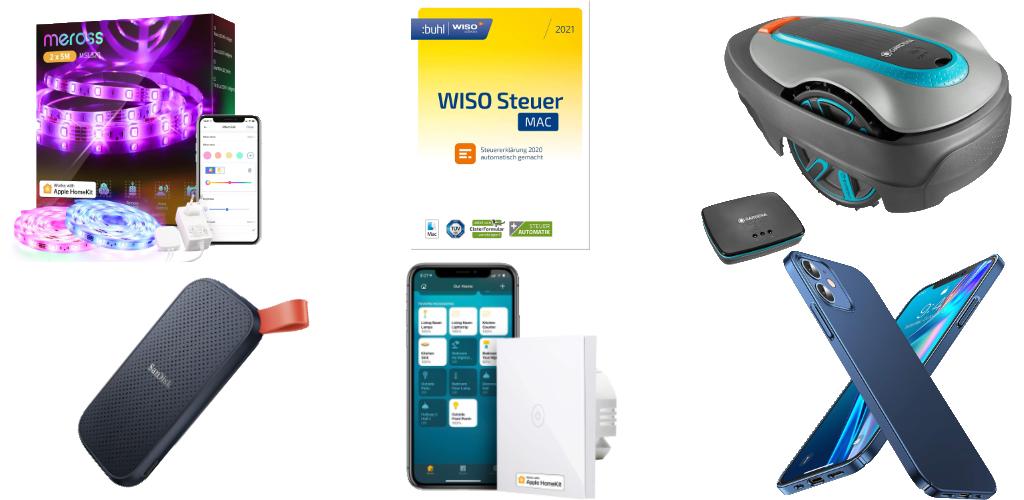 Amazon Blitzangebote: Rabatt auf WISO Steuer 2021, Gardena ...
