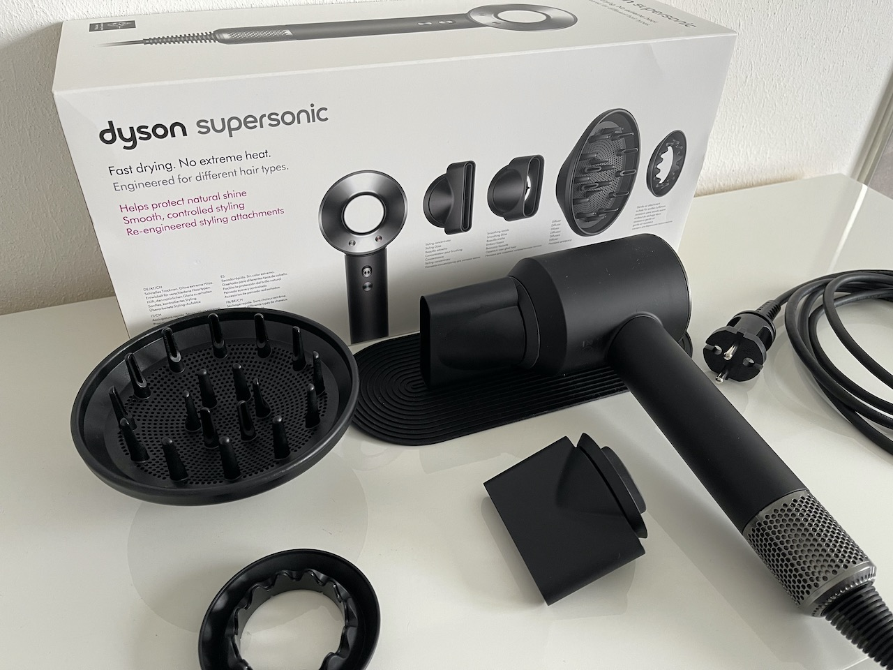 Dyson Supersonic im Test: Lohnt sich der Premium-Haartrockner? › Macerkopf