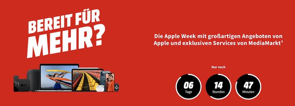 Apple Week bei Media Markt: Rabatt auf MacBook Air M1, iPhone 12 (Pro), iPad, Apple Watch, AirPods Pro + 0 Prozent Finanzierung › Macerkopf