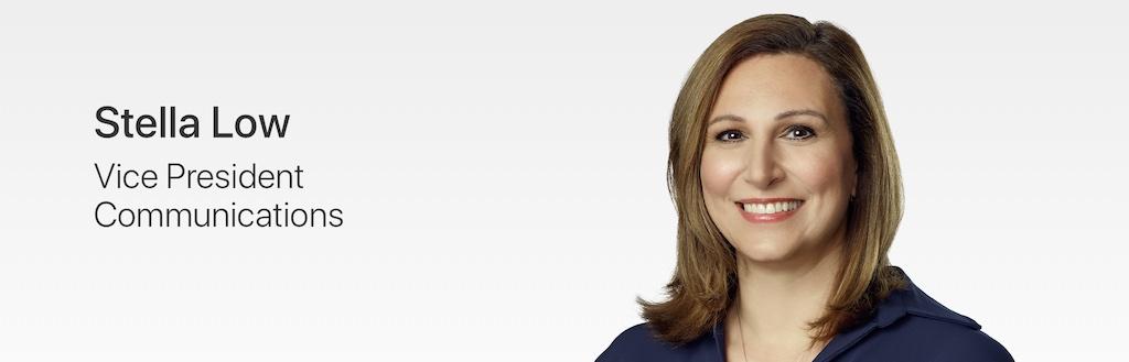 Apple fügt Presse-Chefin Stella Low zur Leadership-Webseite hinzu › Macerkopf