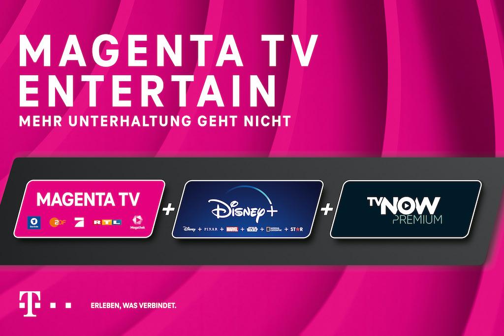 Telekom: neuer MagentaTV Tarif inkl. Disney+ und TV NOW › Macerkopf