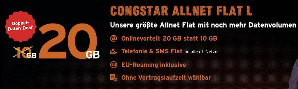 Congstar: Allnet Flat L mit mehr Datenvolumen und doppelter Surfgeschwindigkeit › Macerkopf