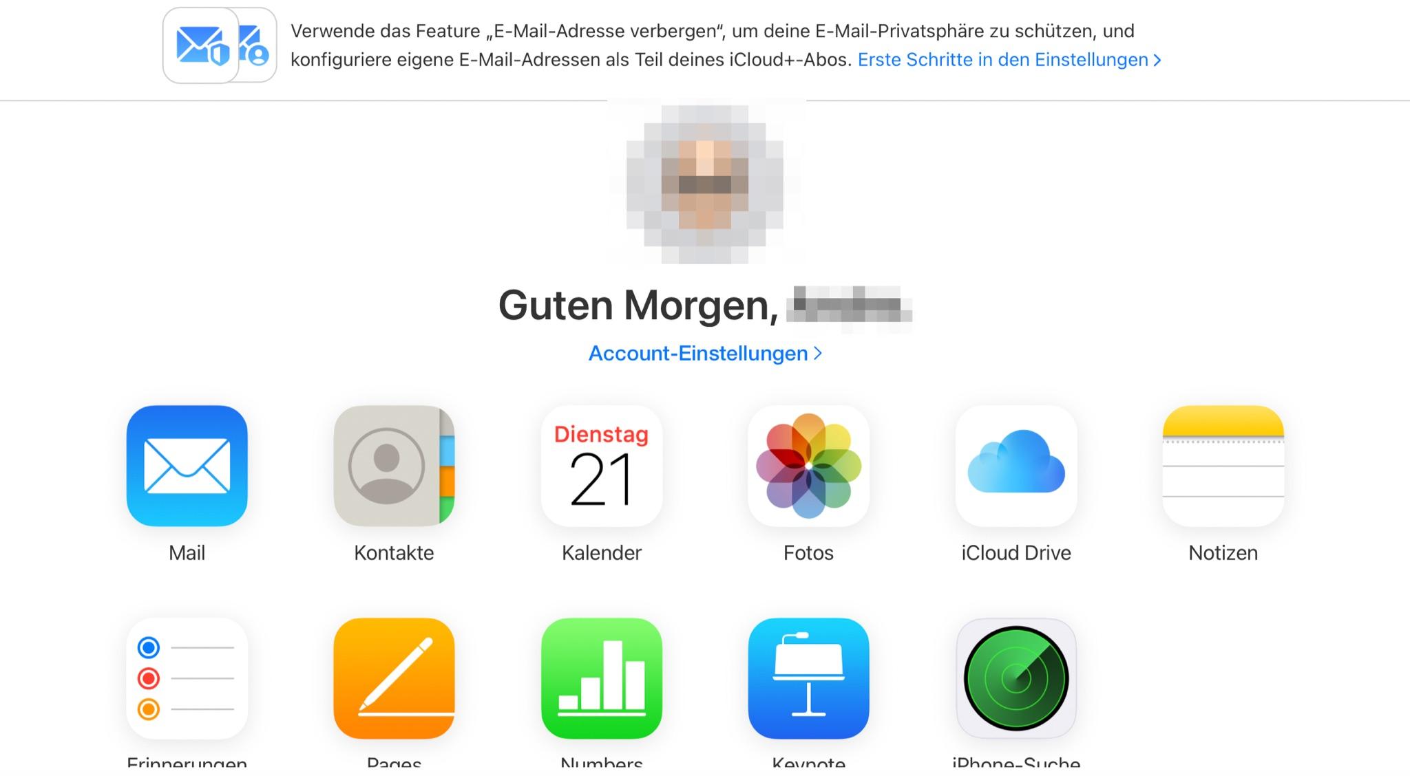 "iCloud.com: Mail-App erhält Re-Design – ""E‑Mail-Adresse verbergen"" und ""Eigene E-Mail-Domain"" gestartet › Macerkopf"