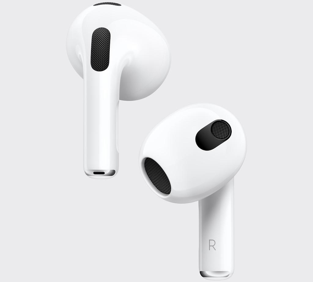 Apple stellt AirPods 3 vor: Komplett neues Design, neue Audiofunktionen und längere Akkulaufzeit › Macerkopf