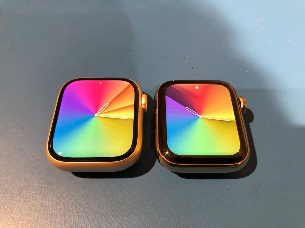 Apple Watch Displayvergleich: Series 7 vs. Series 6 › Macerkopf