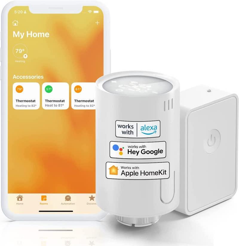 Neue HomeKit-Produkte von Meross: Heizkörper-Thermostat und Stehlampe › Macerkopf
